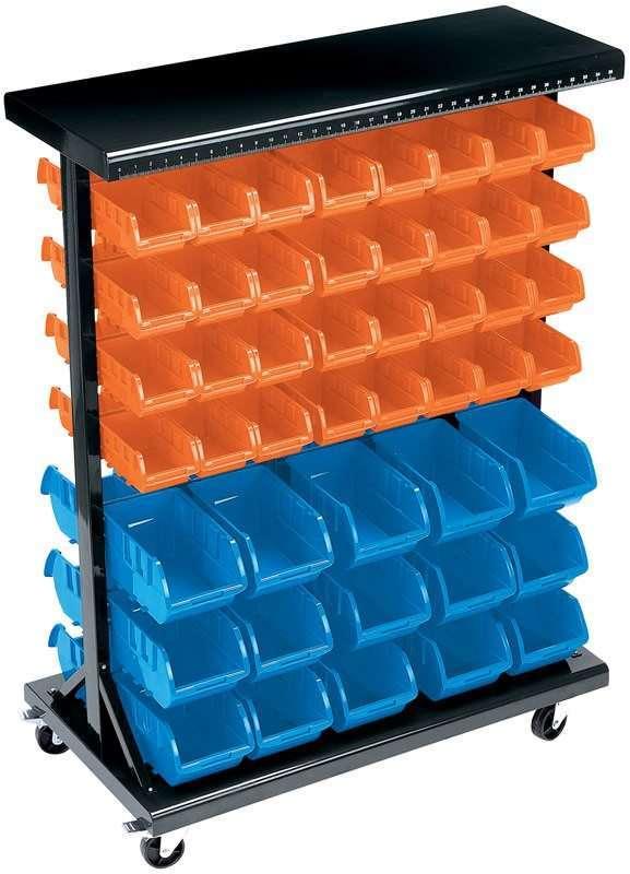 Draper 94 Bin Mobile Storage Unit (Small/Large Bins) 07617
