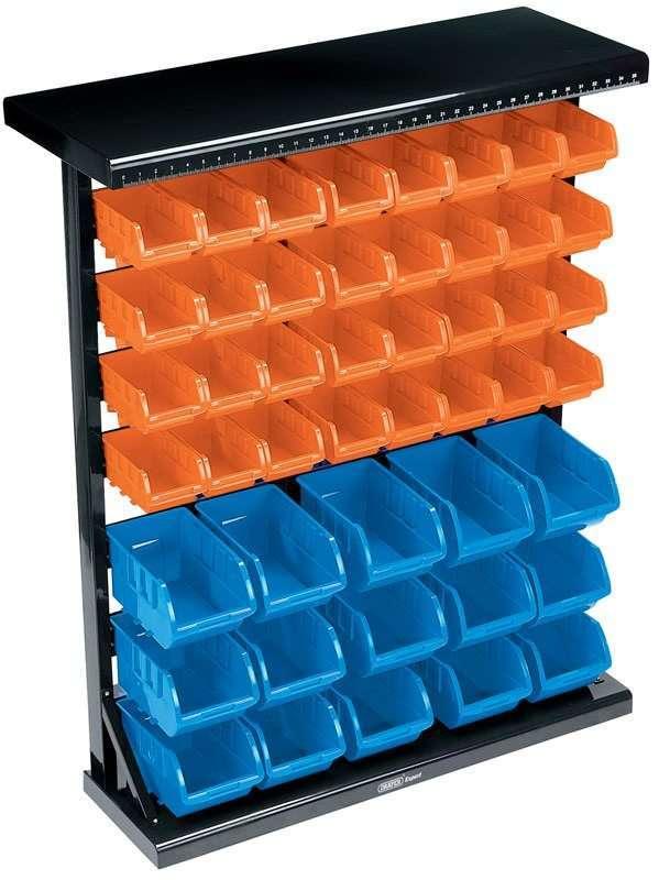 Draper 47 Bin Storage Unit (Small/Large Bins) 07618