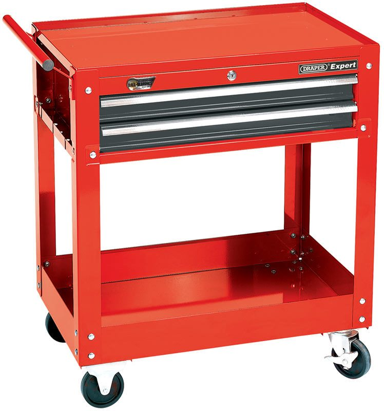 Draper 2 Level Tool Trolley with Two Drawers 07635