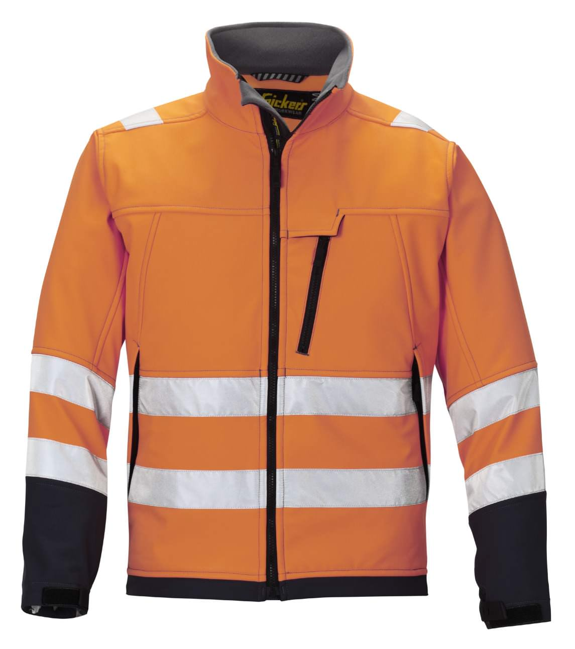 Snickers 1213 High-Vis Soft Shell Jacket, Class 3