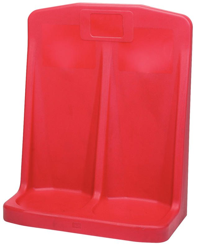 Draper Double Fire Extinguisher Stand