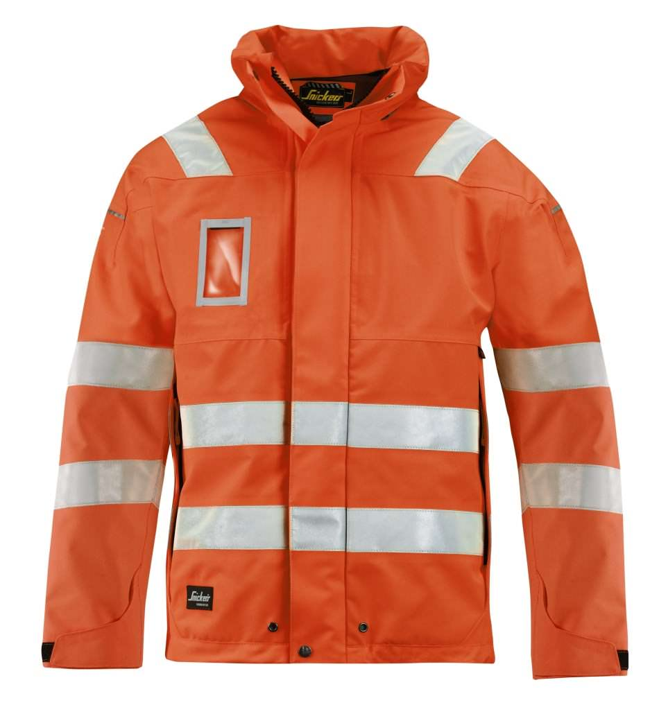 Snickers 1683 High-Vis Gore-Tex® Shell Jacket, Class 3