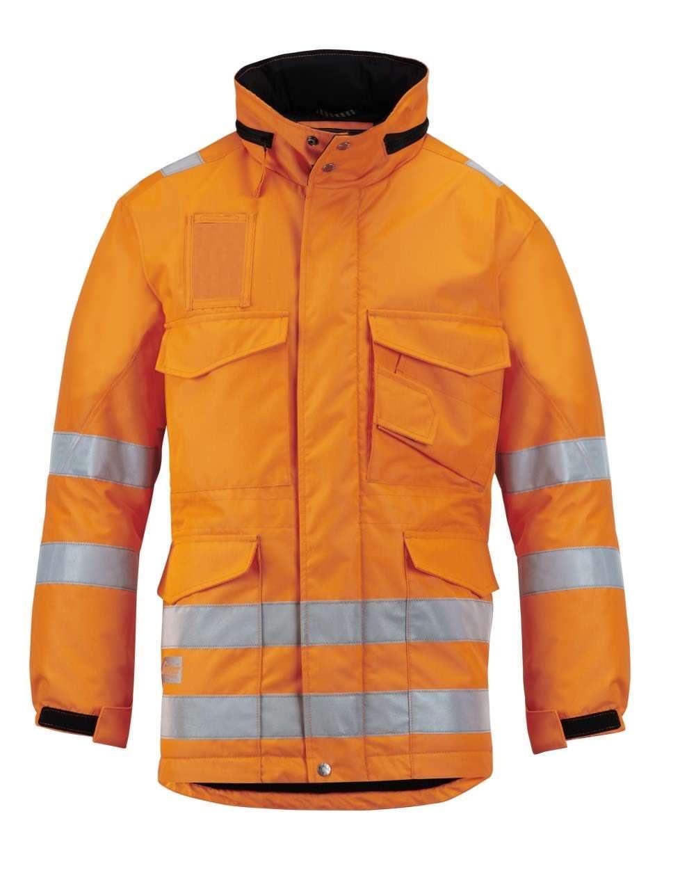 Snickers 1823 High-Vis Winter Long Jacket, Class 3