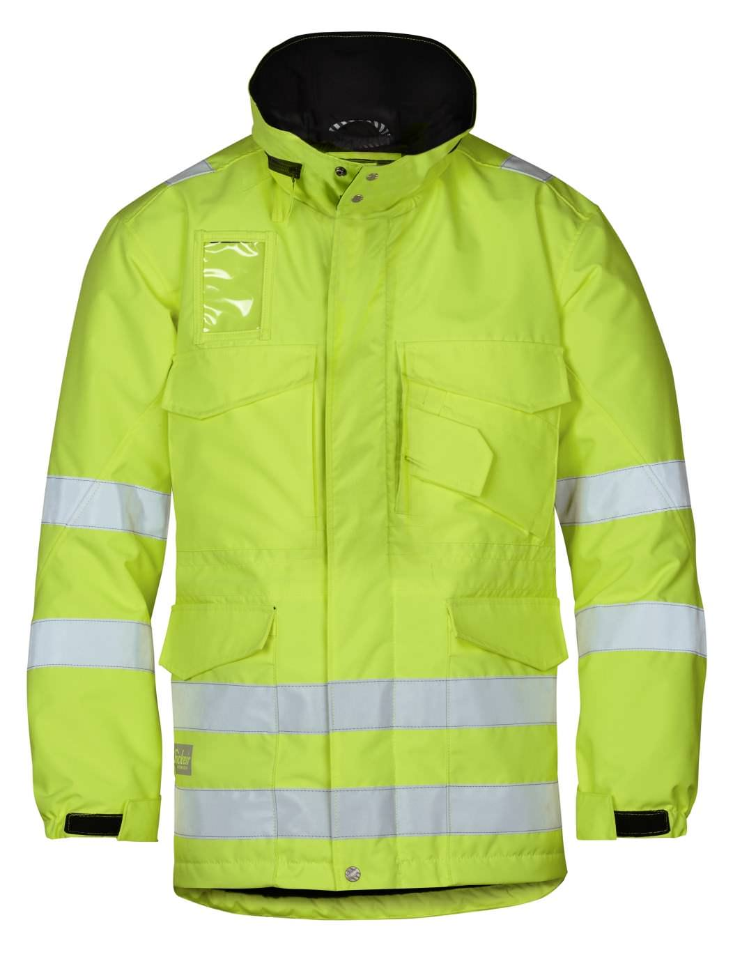 Snickers 1823 High-Vis Winter Long Jacket, Class 3