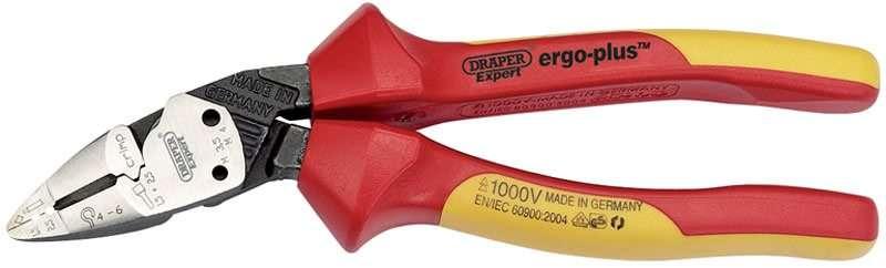 Draper 185mm Expert Ergo Plus® Fully Insulated VDE Pliers