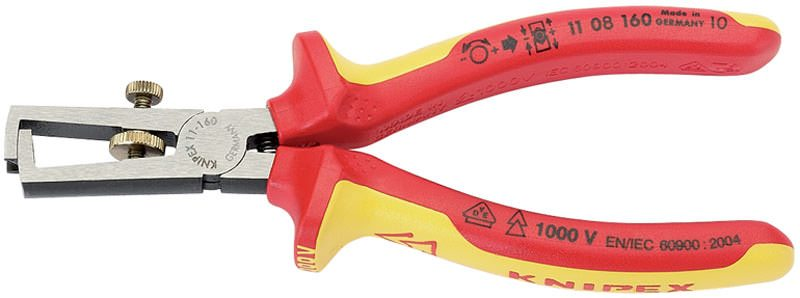 Draper Knipex 160mm Fully Insulated Wire Stripping Pliers