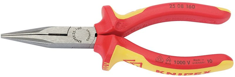 Draper Knipex 160mm Fully Insulated Long Nose Pliers