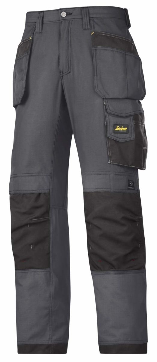 Snickers 3213 Rip-Stop Craftsmen Holster Pocket Trousers