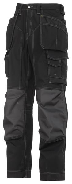 Snickers 3223 Floorlayer Holster Pocket Trousers, Rip-Stop