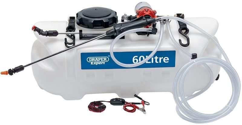 Draper 60L 12V DC ATV Spot/ Broadcast Sprayer