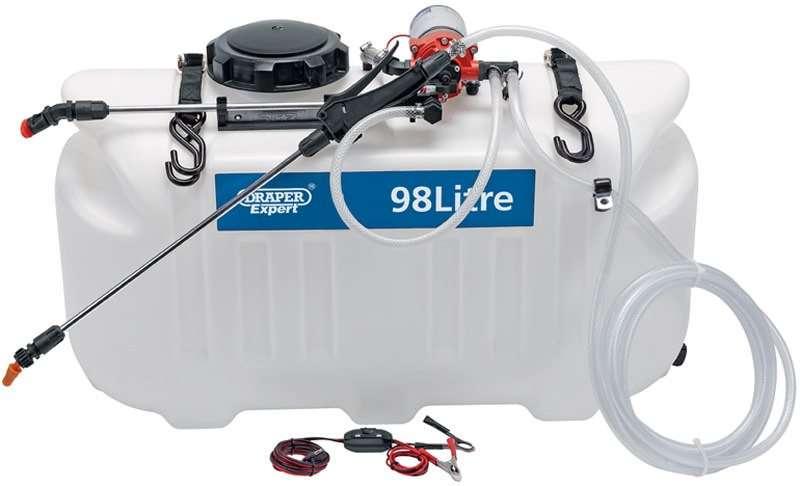 Draper 98L 12V DC ATV Spot/ Broadcast Sprayer