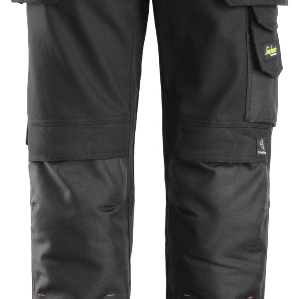 Snickers 3714 Women's Holster pocket Trousers, Canvas+