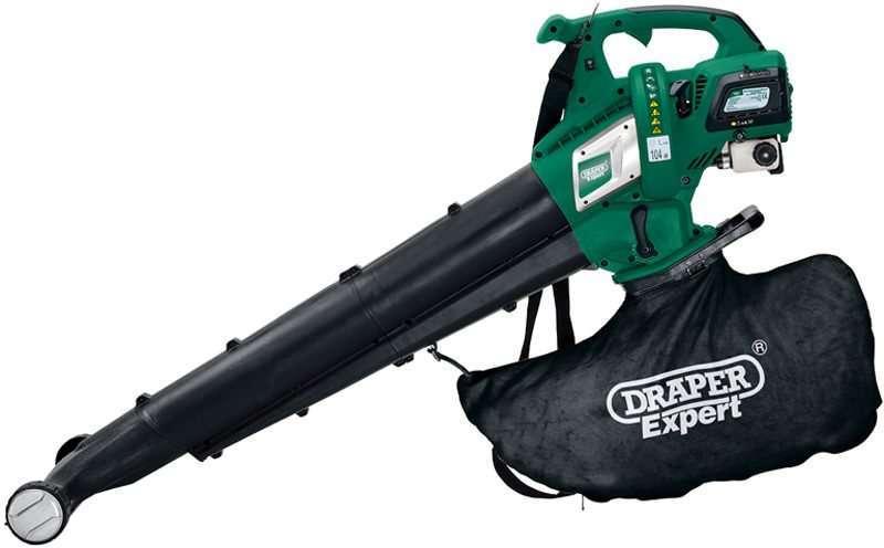 Draper 30cc Petrol Vacuum/Blower and Mulcher