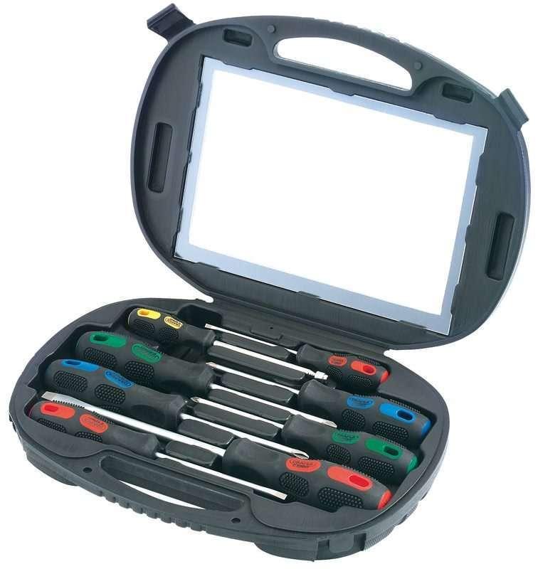 Draper 8 Piece Screwdriver Set in Case