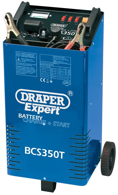 Draper 230V Battery Charger / Starter with Trolley