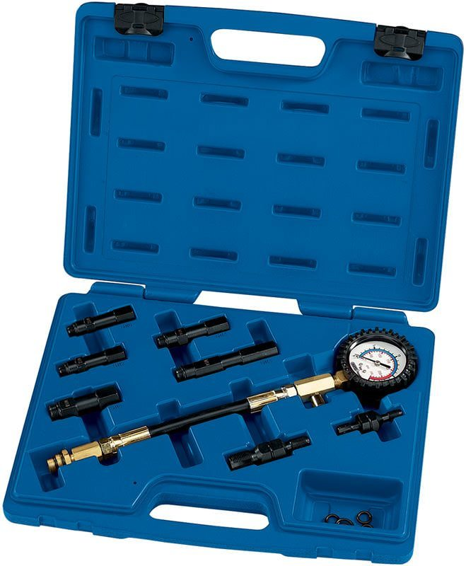Draper 7 Piece Petrol Engine Compression Test Kit