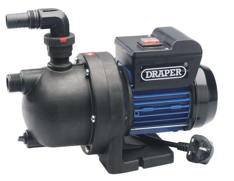 Draper 50L/Min (Max) 700W Surface Mounted Pump 230V