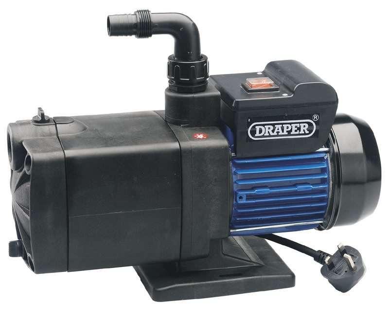 Draper 100L/Min (Max) 1000W Multistage Surface Mounted Pump 230V