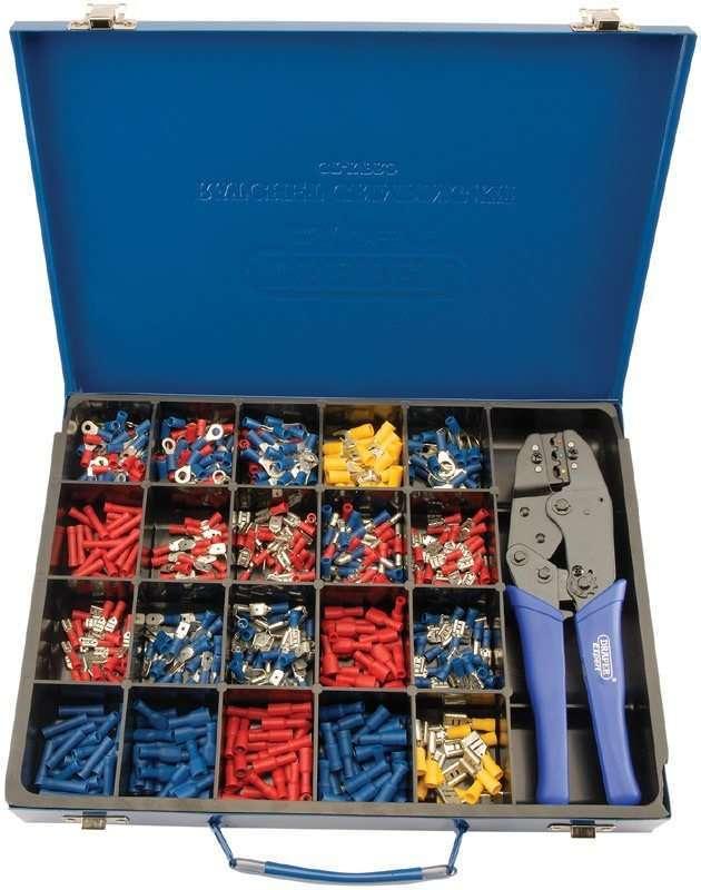 Draper Ratchet Crimping Tool and Terminal Kit