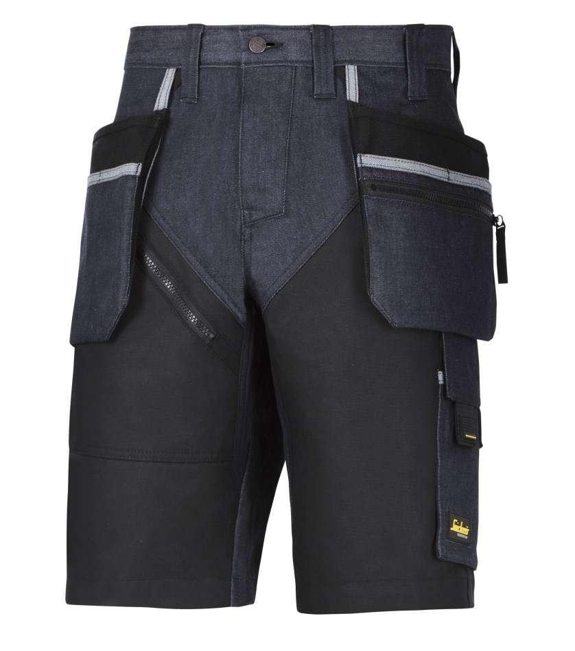 Snickers 6104 RuffWork Denim, Work Shorts+ Holster Pockets