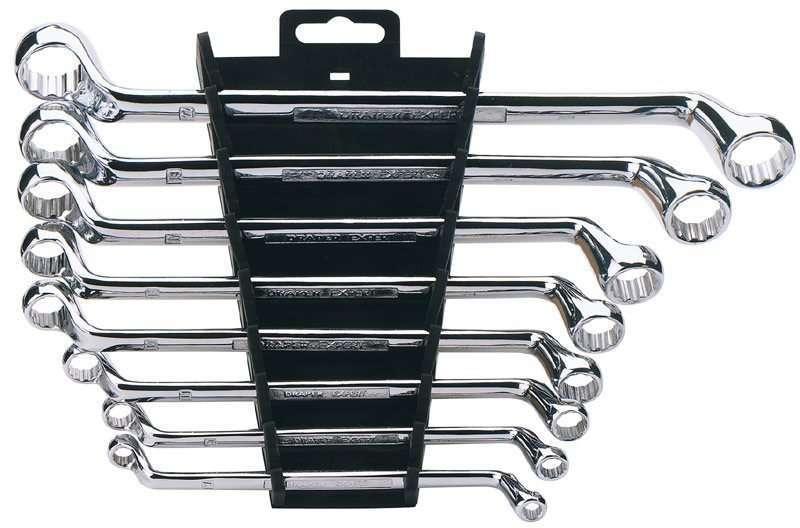 Draper 8 Piece Hi-Torq® Deep Offset Metric Ring Spanner Set
