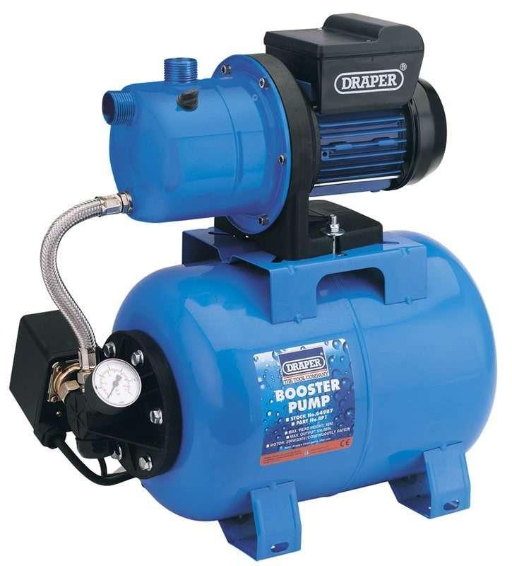Draper 55L/Min (Max) 800W 230V Booster Pump