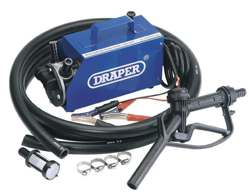 Draper 12/24V Diesel Transfer Pump