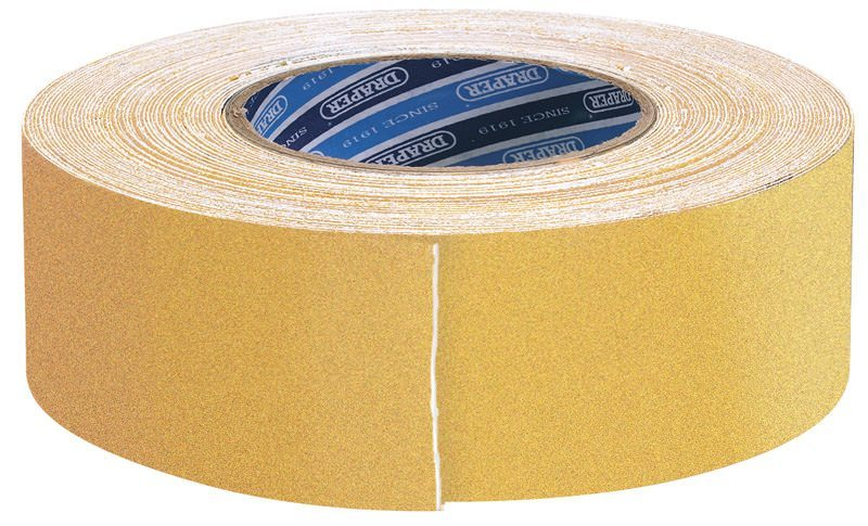 Draper Yellow Heavy Duty Safety Grip Tape Roll