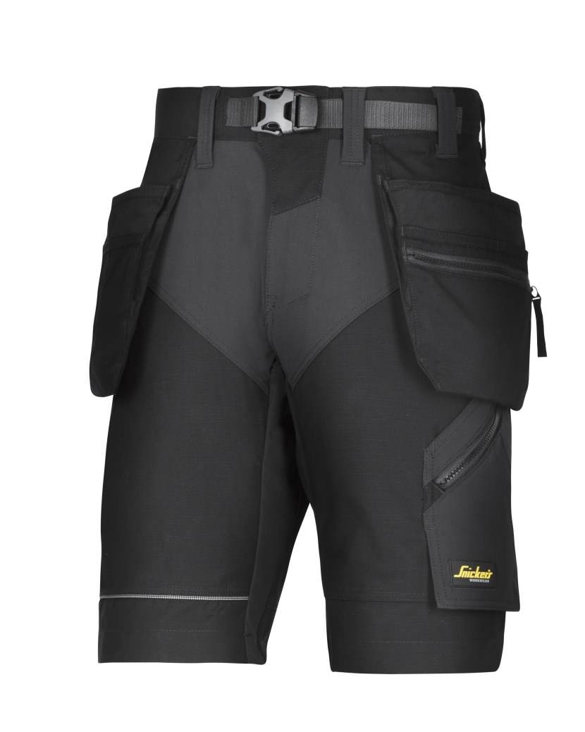 Snickers 6904 FlexiWork, Work Shorts+ Holster Pockets