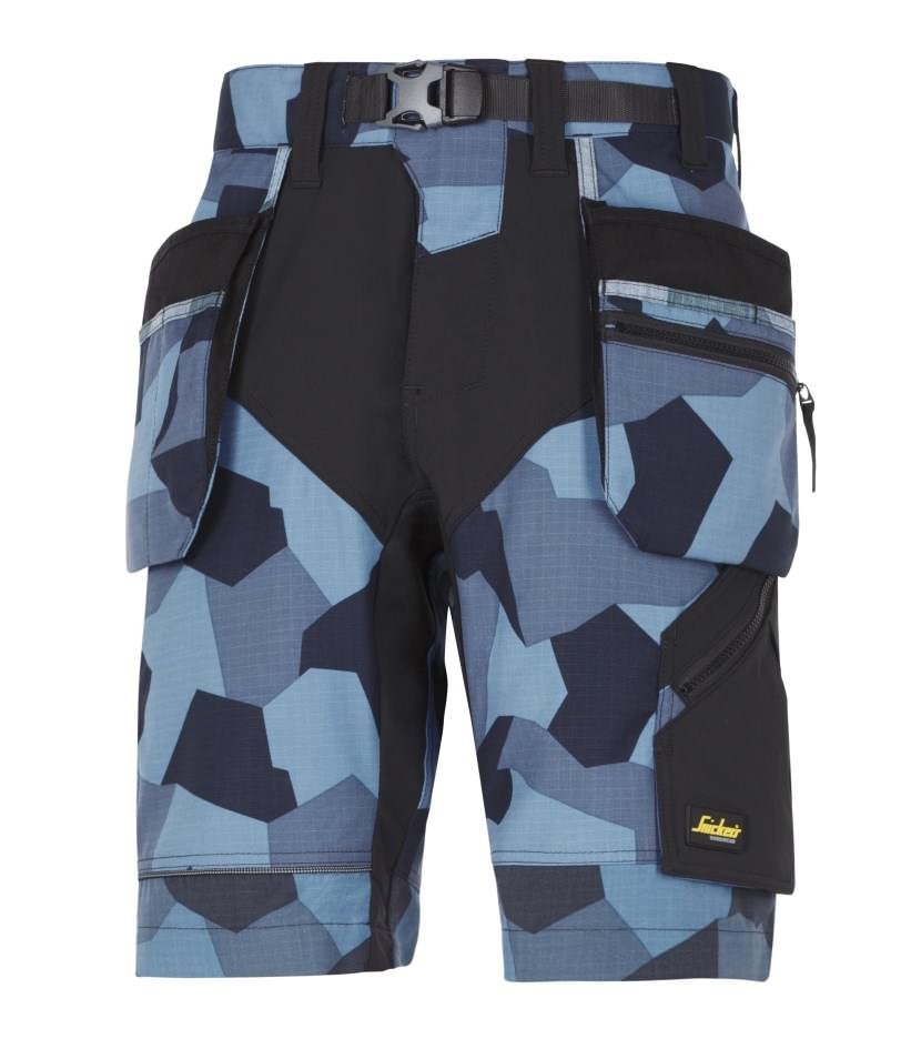 9b19b6c40 Snickers 6904 FlexiWork, Work Shorts+ Holster Pockets