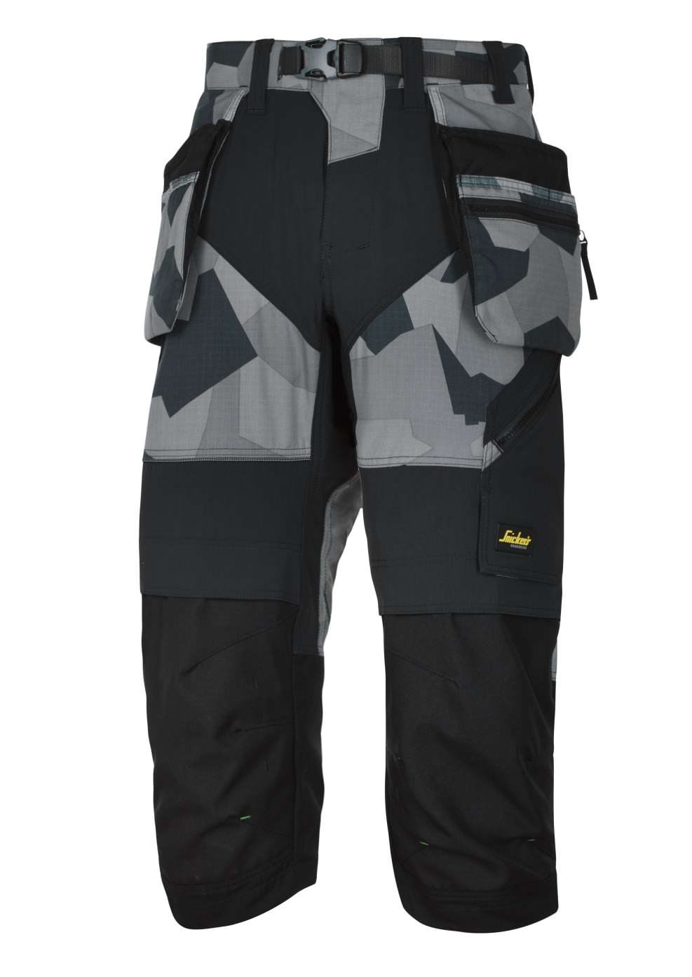 Snickers 6905 FlexiWork, Work Pirate Trousers+ Holster Pockets