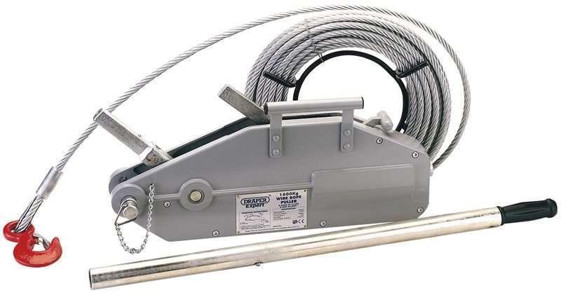 Draper 1600/2400kg Wire Rope Winch/Hoist