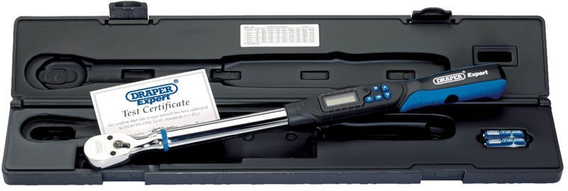 "Draper 1/2"" Sq. Dr. Electronic Precision Torque Wrench"