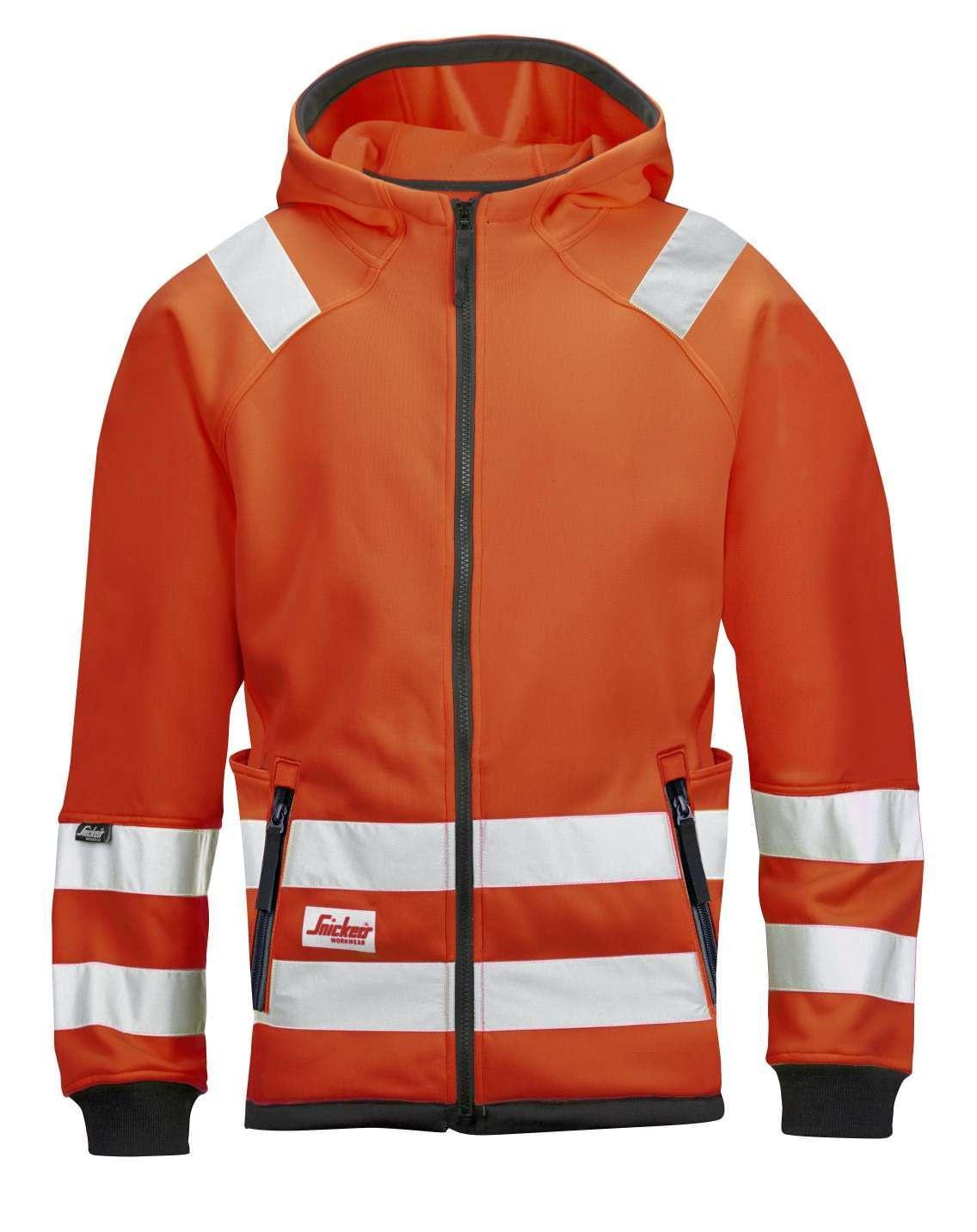Snickers 8043 High-Vis Micro Fleece Jacket, Class 3