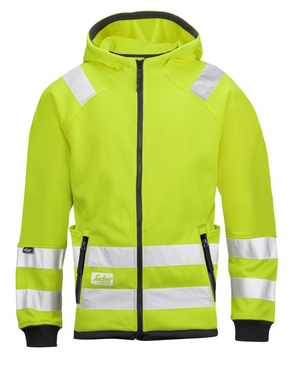 Snickers 8043 High-Vis Micro Fleece Jacket, Class 3