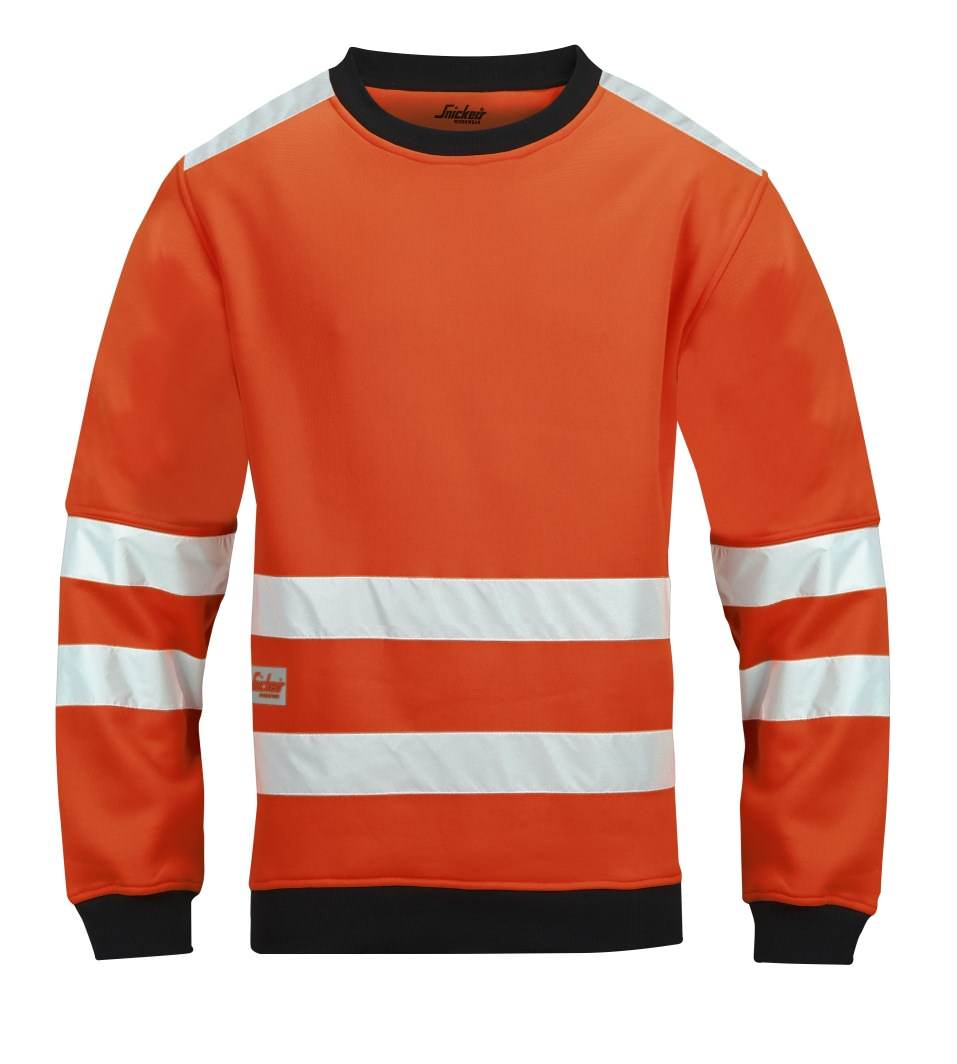 Snickers 8053 High-Vis Micro Fleece Round Neck, Class 3