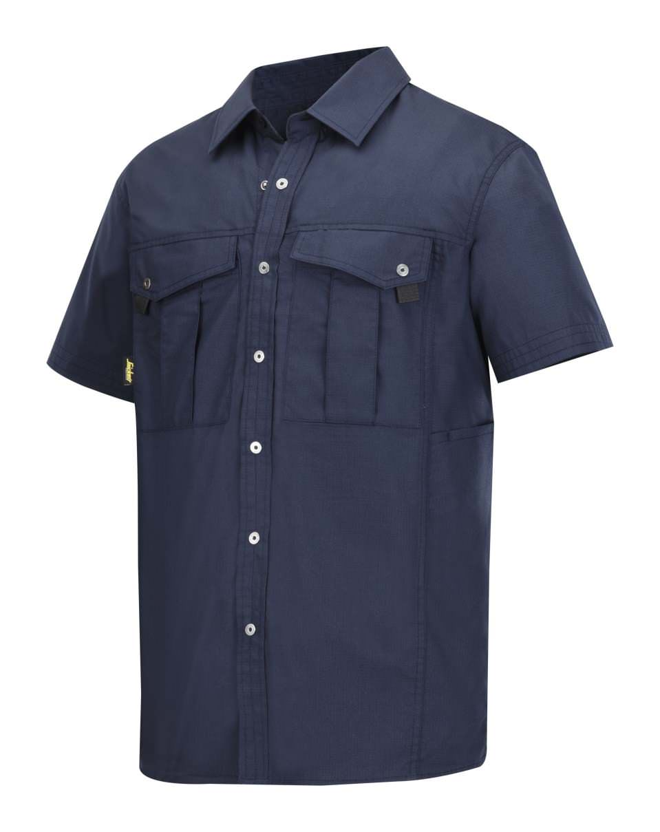 Snickers 8506 Short Sleeve Rip Stop Shirt