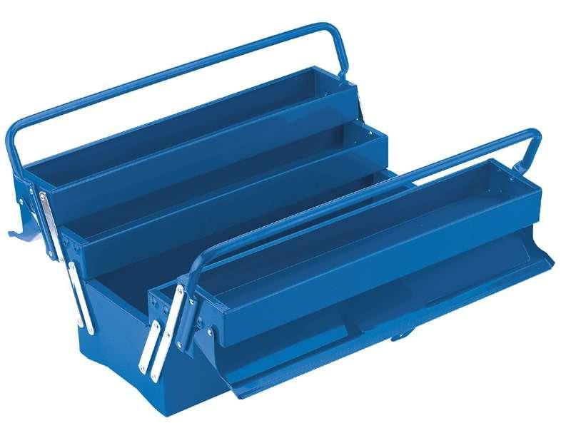 Draper 18L Extra Long Four Tray Cantilever Tool Box