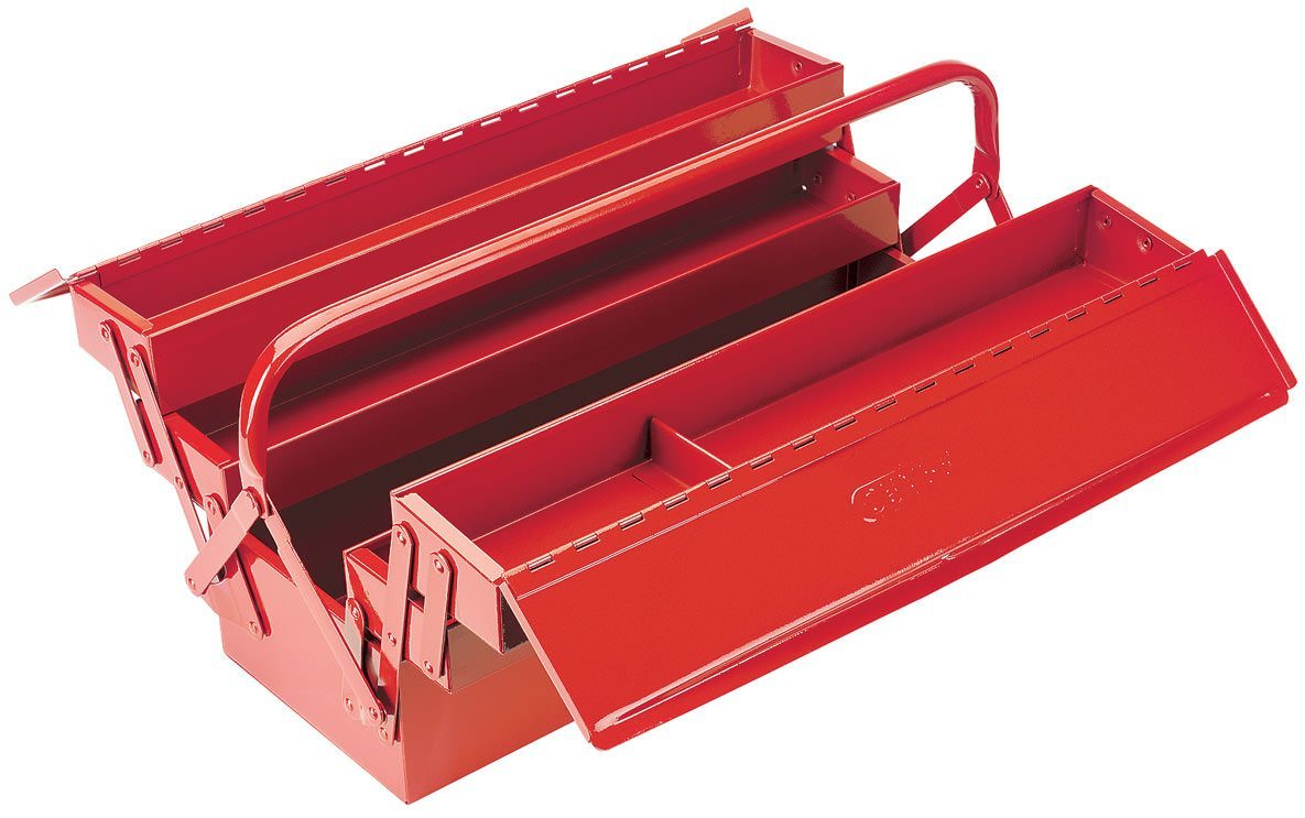 Draper 22L Extra Long Four Tray Cantilever Tool Box