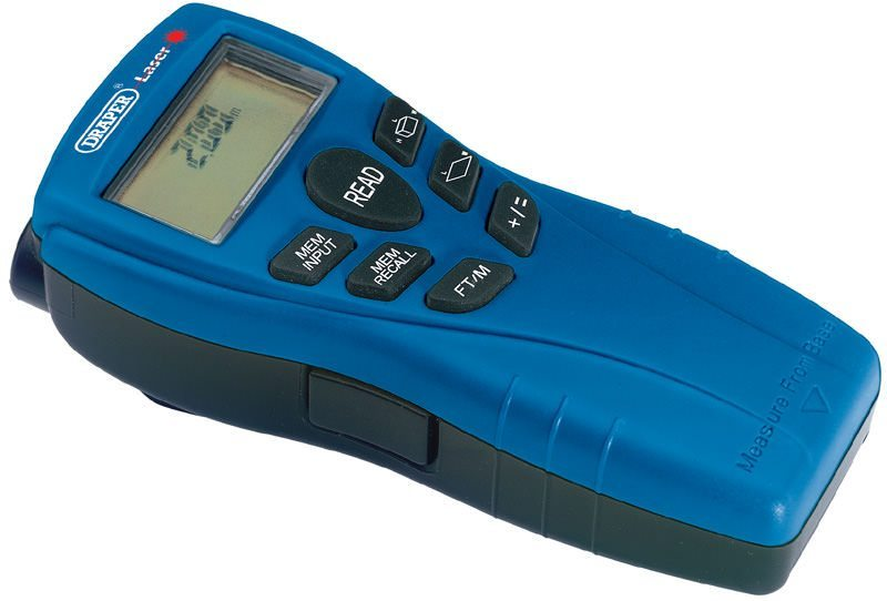 Draper Distance Measure/Stud Detector with Laser Pointer