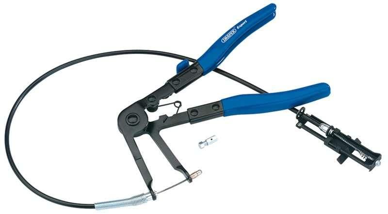 Draper 230mm Flexible Ratchet Hose Clamp Pliers
