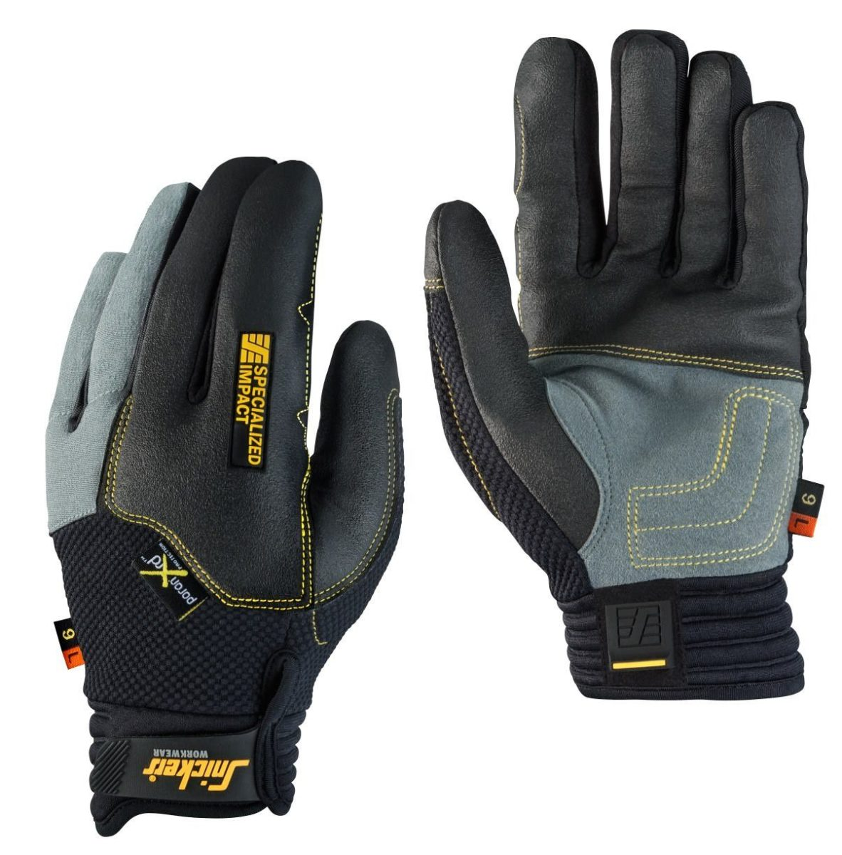 Snickers 9595 Specialised Impact Glove, Left (Single)
