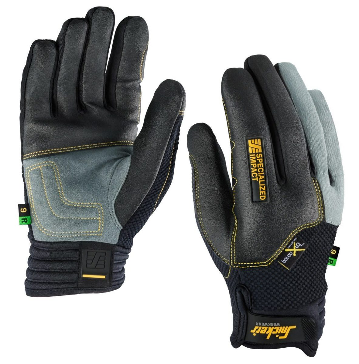 Snickers 9596 Specialised Impact Glove, Right (Single)