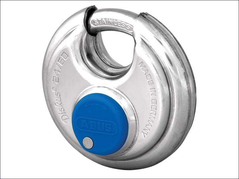 Abus 24IB/60 60mm Diskus Padlocks Stainless Steel