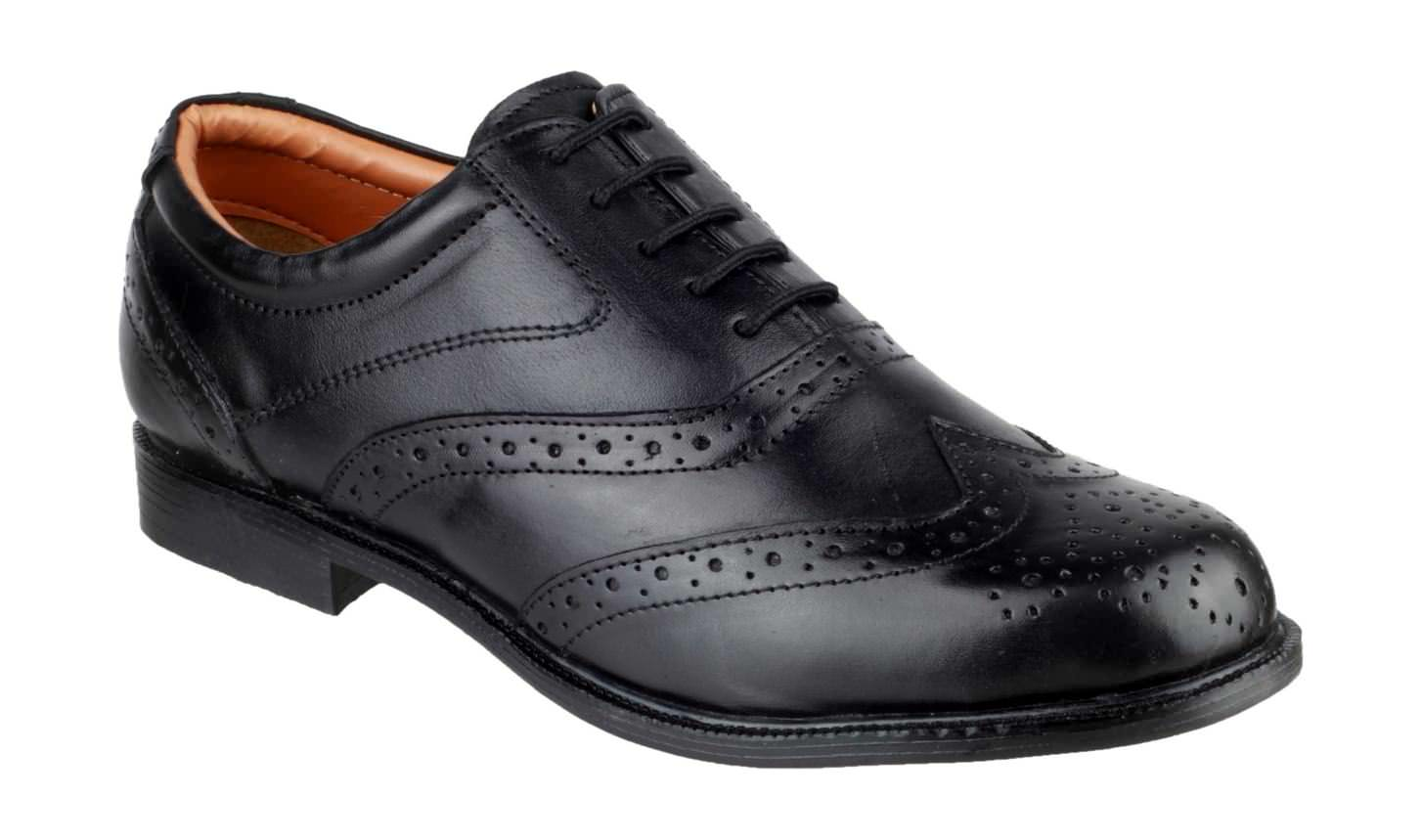 Amblers Liverpool Oxford Brogue Non-Safety Shoe