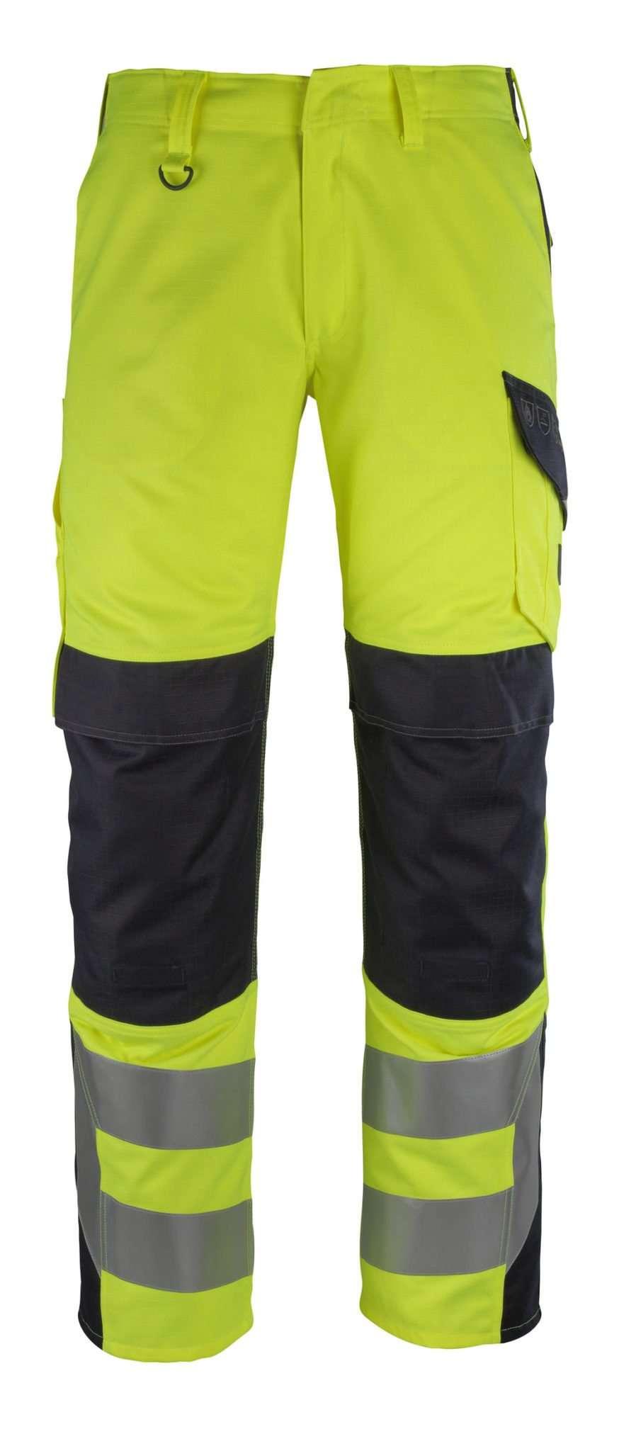 Mascot® Arbon Yellow Flame Retardant Trousers