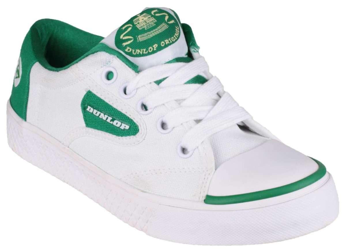Dunlop DU1555 Green Flash Non-Marking Trainer