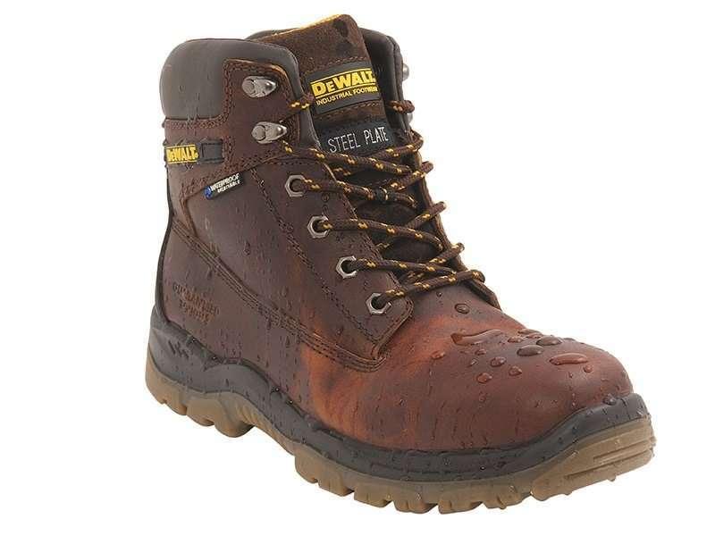 DeWalt Titanium Tan Safety Boots Sibbons