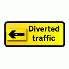 1050 x 450mm Road Sign Plates