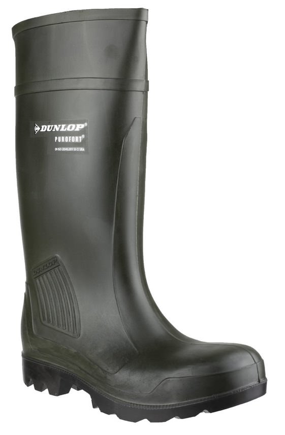 Dunlop C462933 Purofort Professional Full Safety Wellington Boot